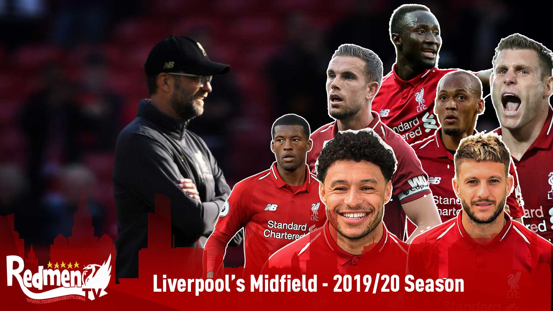 Image result for liverpool midfield